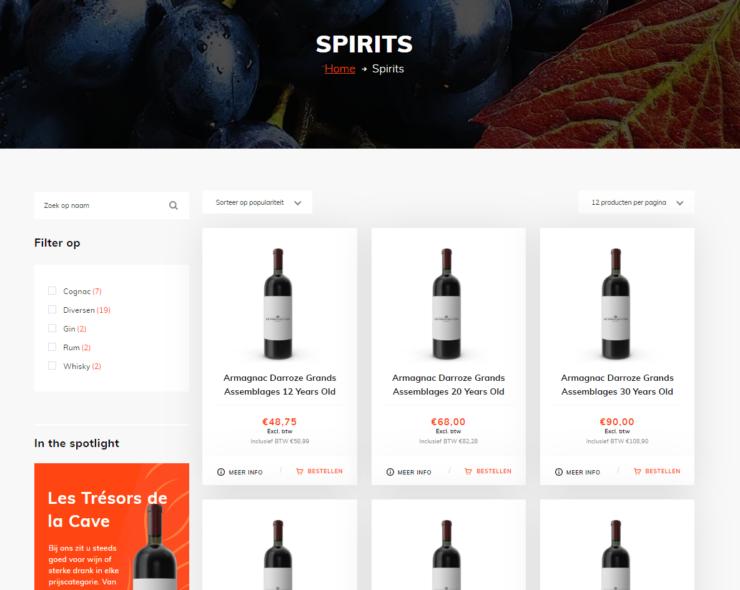 Alcohol verkopen via webshop