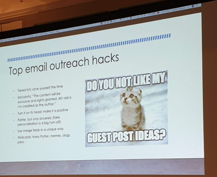 Outreach Top Email Hacks