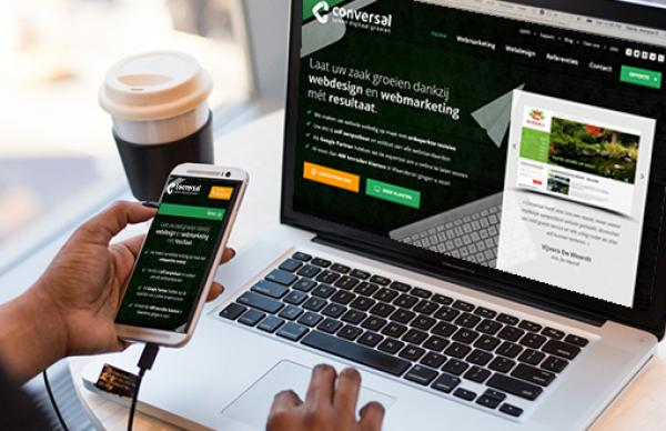 Responcive website op smartphones