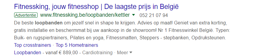Google Search Fitnessking