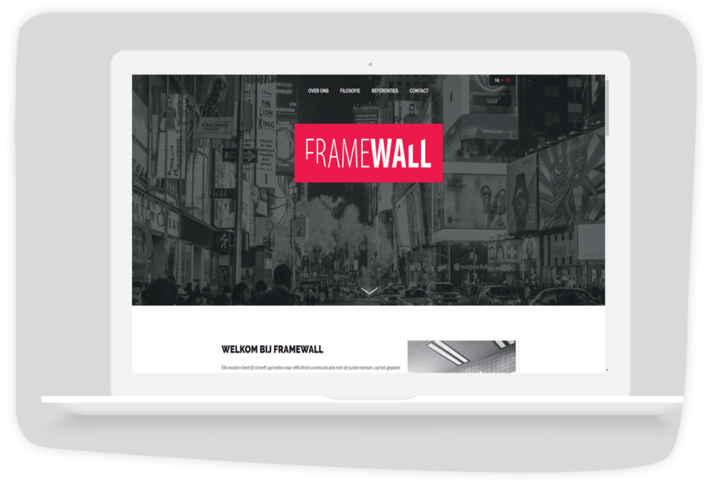 Framewall Laptop Aalst