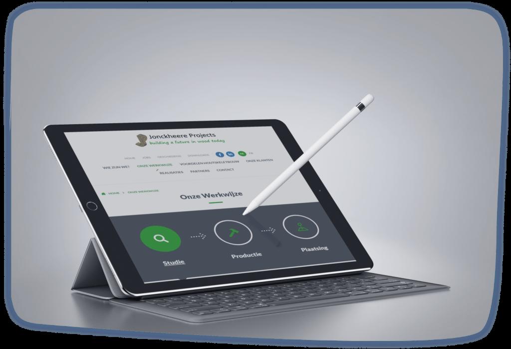 Jonckheere Projects Tablet Asse