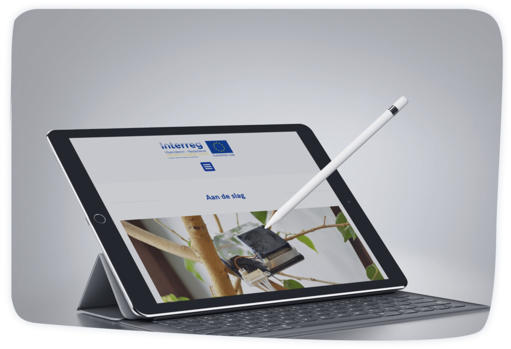 Project Zuivere Lucht Tablet Aalst