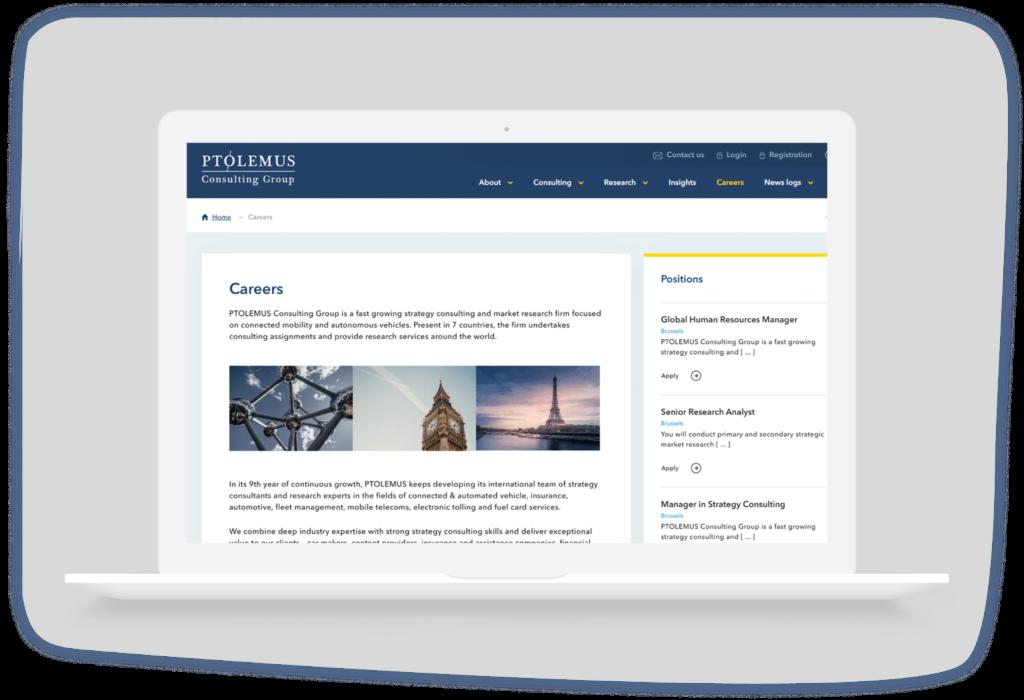 Ptolemus Desktop Brussel