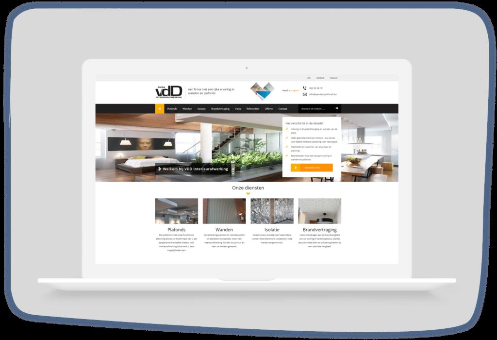 VDD Interieurafwerking Laptop Dendermonde