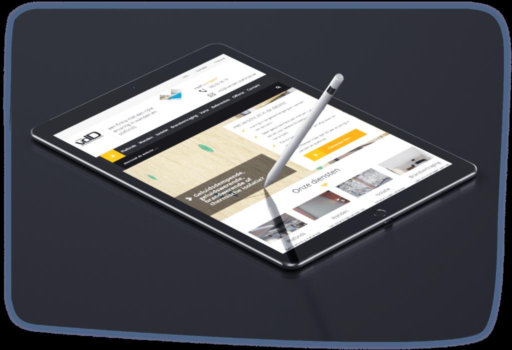 VDD Interieurafwerking Tablet Phone