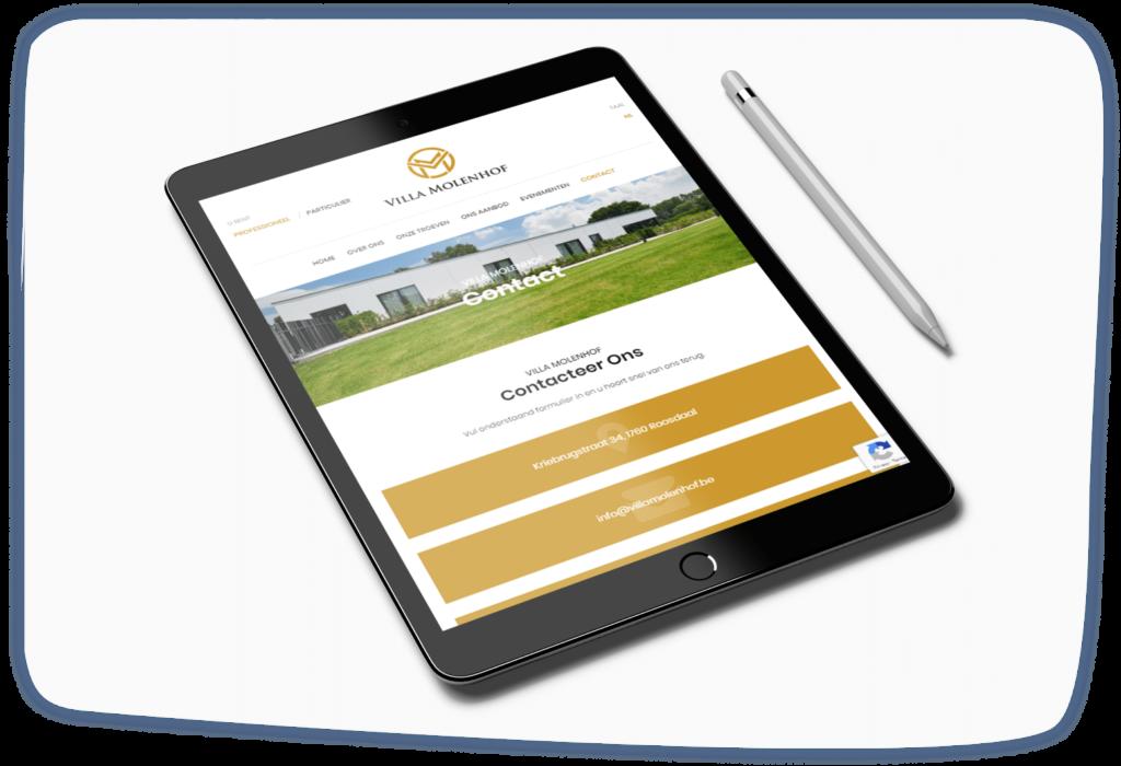 Villa Molenhof Tablet Roosdaal