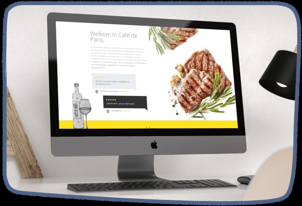 Wordpress Maatwerk Café De Paris