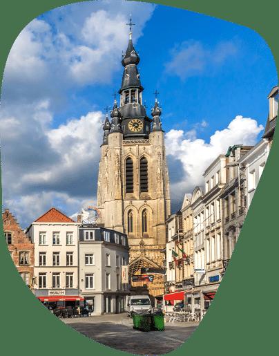 Kortrijk kerk