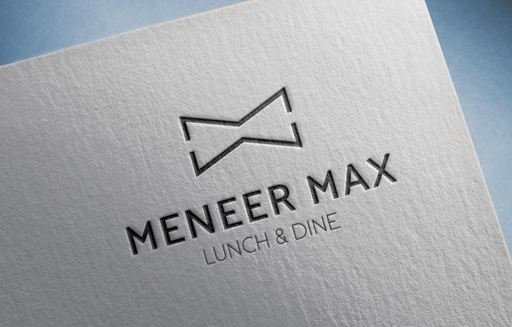 Logo ontwerp Meneer Max