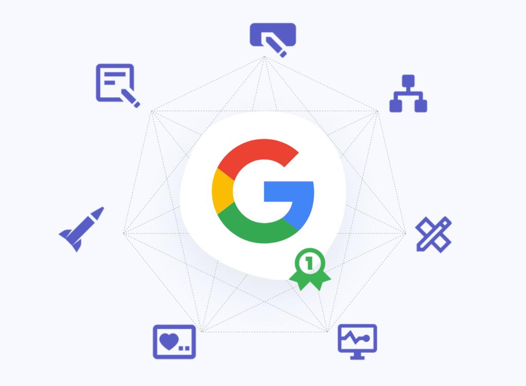 Factoren om te scoren in Google