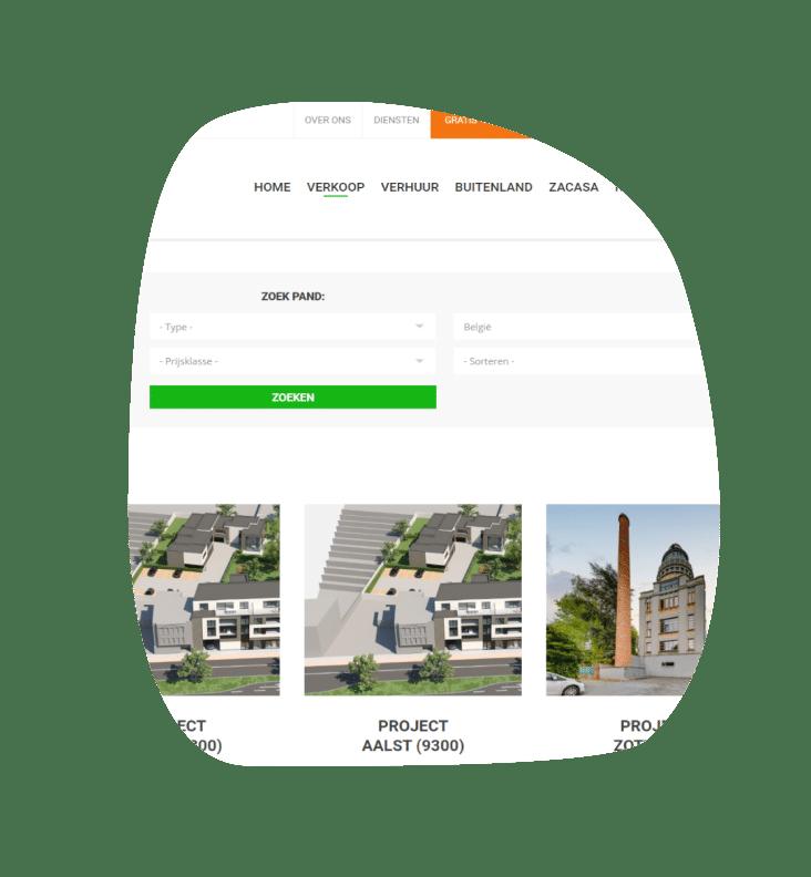 Immo Website B&V Invest