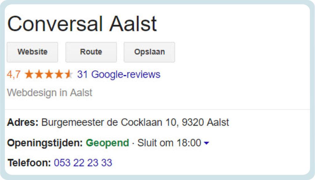 Google My Business Instellen