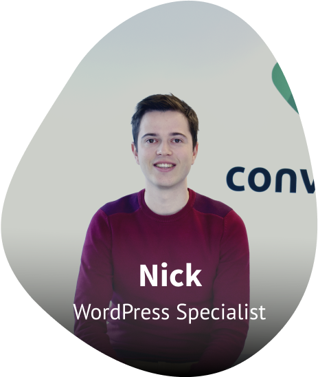WordPress Specialist Nick