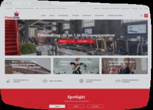 Website laten maken zoals Fitnessking