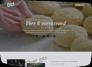 TNS Kroket door webdesign bureau Conversal