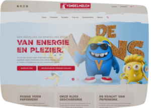 Website laten maken zoals Vondelmolen
