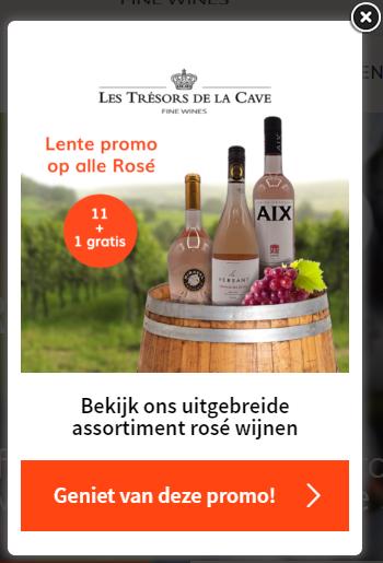 Les Trésors De La Cave website promo