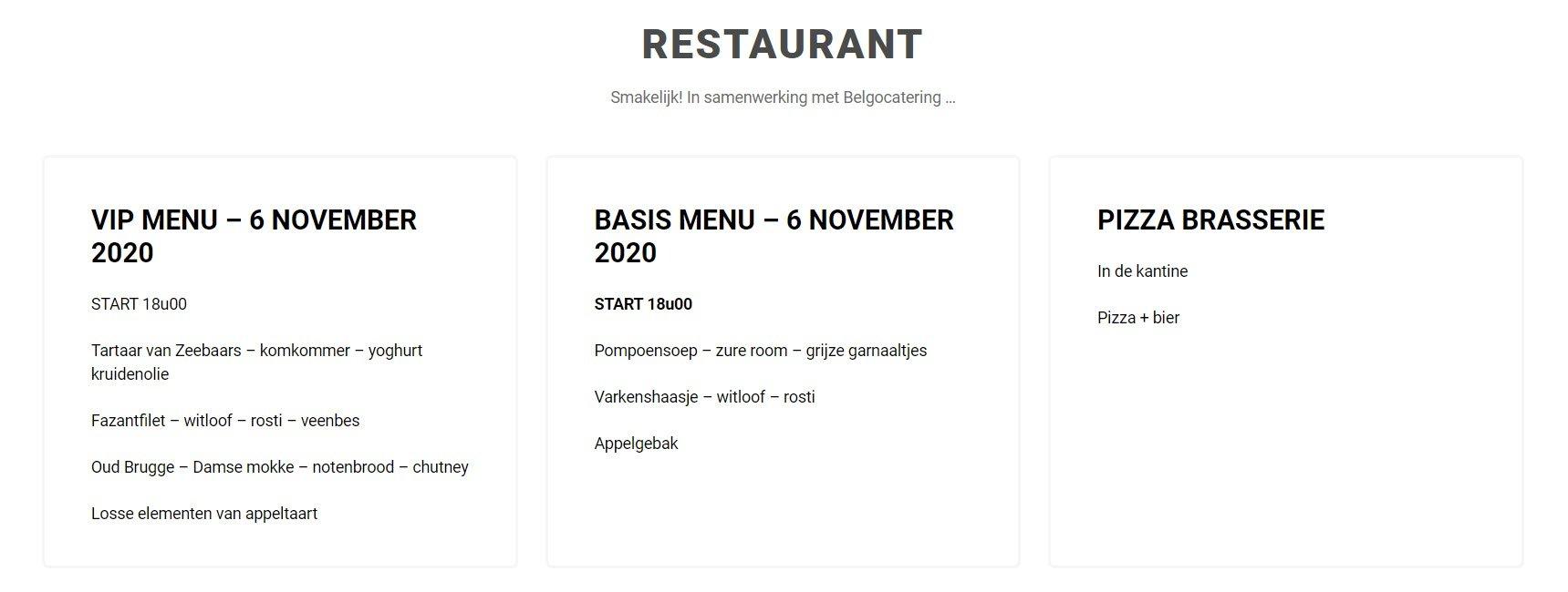 Okapi Aalst restaurant