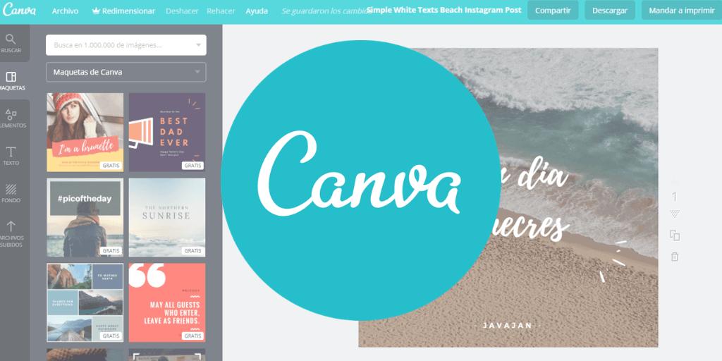 Canva: social media tool voor het maken van grafische designs