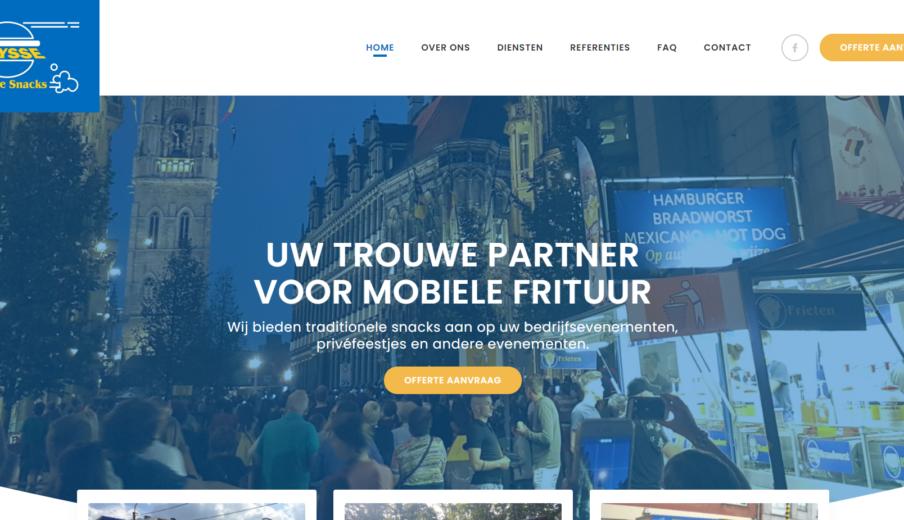 WordPress website in Oost-Vlaanderen