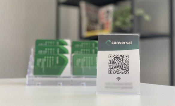 QR-code voor WiFi toegang