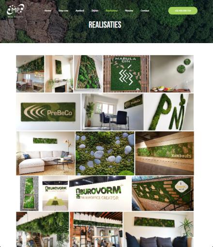 Moss Projects realisaties