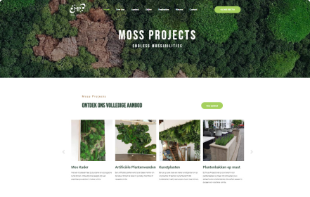 Moss Projects home
