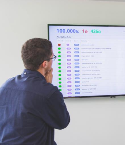 WordPress onderhoud monitor