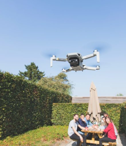 Video marketing met drone