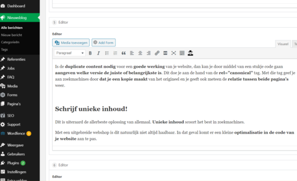 Duplicate content vermijden|Duplicate content|Duplicate Content op je website|Duplicate content - dubbele content