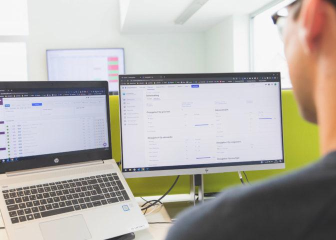 Webdevelopment onderhoud en opvolging
