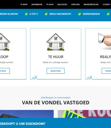 Immo Website Van De Vondel
