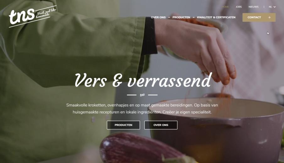 WordPress website laten maken tns kroket