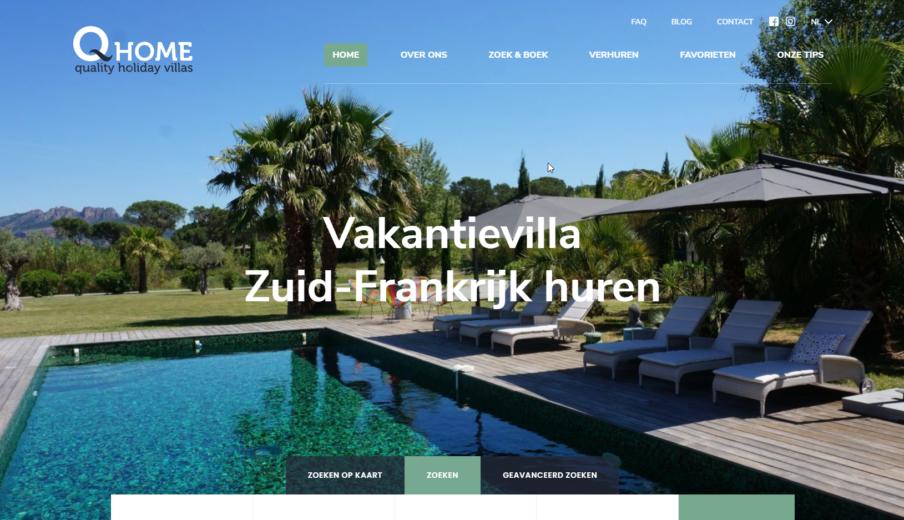 WordPress website laten maken q home