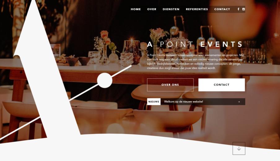 Nieuwe Website ApointEvents