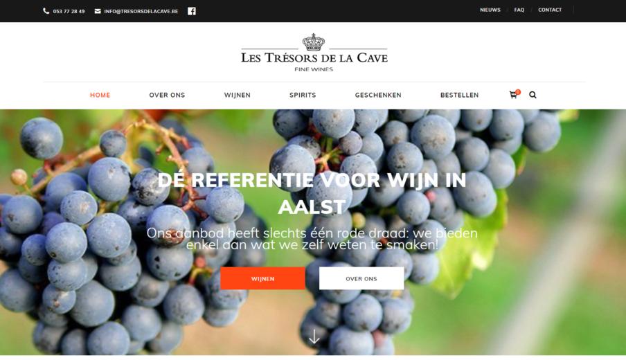 Webshop Laten Bouwen Tresors De La Cave