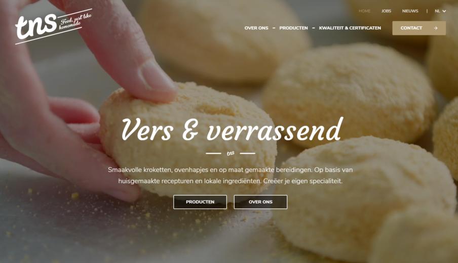 WordPress webdesign TNS Kroket