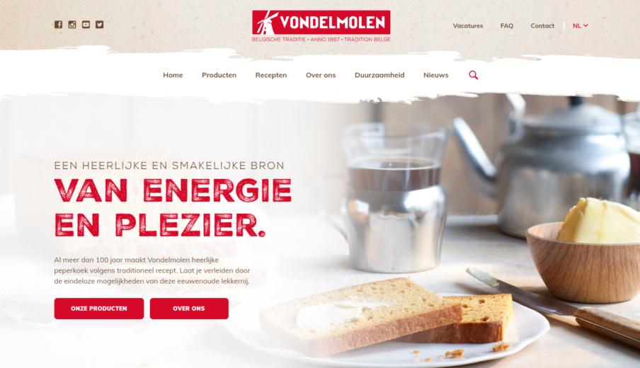 WordPress webdesign Vondelmolen