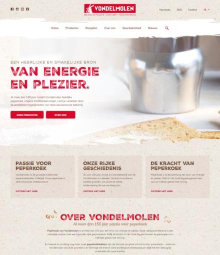 WordPress Ontwikkelaar Van Vondelmolen