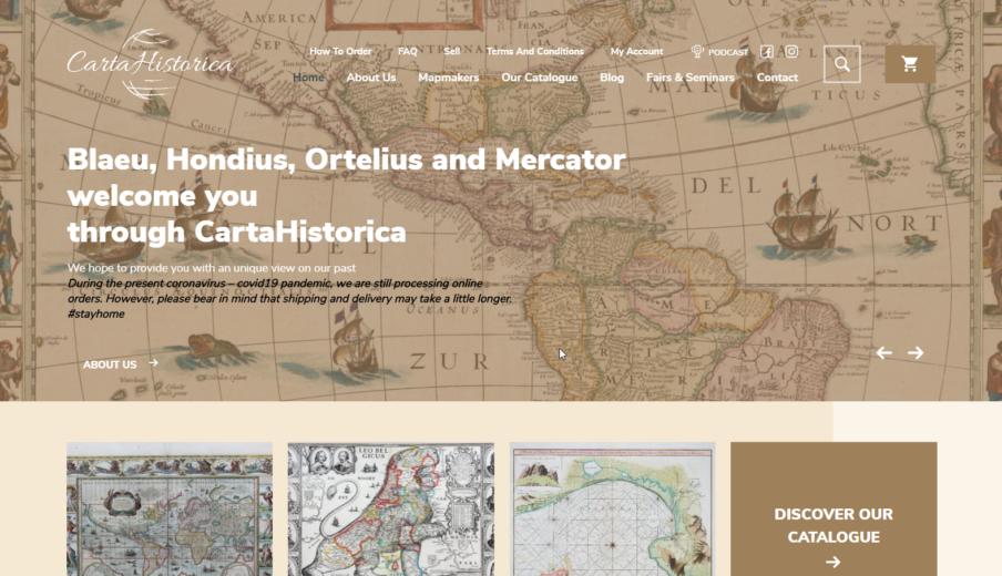 Website laten maken Carta Historica