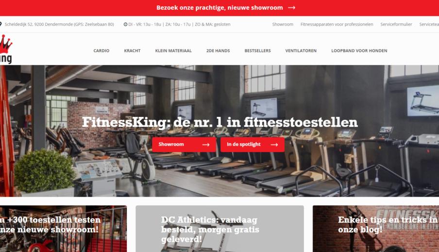 Website laten maken Fitnessking