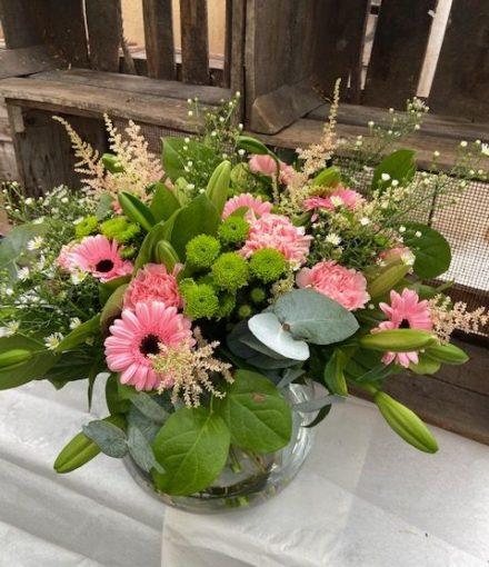 Boeketje bloemen van Bloemen Roels